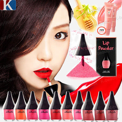 RIRE NEW LIP POWDER 4 Color, LIP MANICURE 10 Color, Kissing Lip Gloss Lip Stain