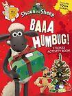 Baaa Humbug! A Shaun the Sheep Sticker Activity Book by Aardman Animations Ltd (Paperback, 2015)