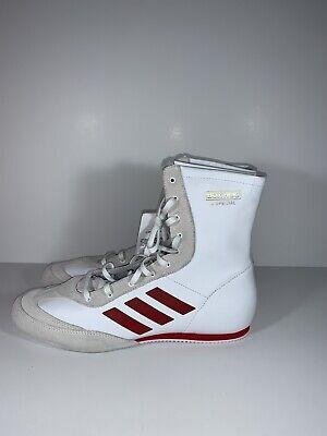 Adidas Box Hog x Special Men's Boxing Shoes WhiteRed AC7148 Sz 11 | eBay