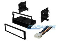 Car Stereo Radio Kit Dash Installation Mounting Trim Bezel W/ Wiring Harness on sale