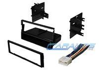 Car Stereo Radio Kit Dash Installation Mounting Trim Bezel W/ Wiring Harness on sale