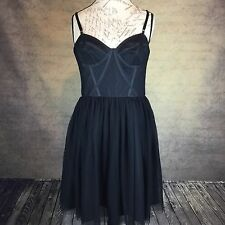 Jill Stuart Women's Gothic Corset Dress Special Occasion Prom Flare Skirt Sz 12