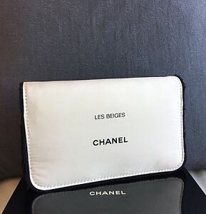 Image Is Loading New Chanel Beauty Cosmetic Makeup Bag Pouch Clutch