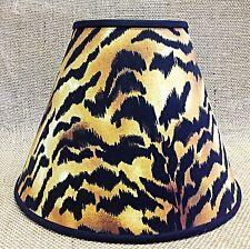 Tiger Print Lampshade Handmade Lamp Shade