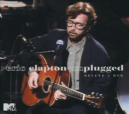 ERIC CLAPTON   UNPLUGGED   DELUXE+DVD   NEW  081227963668