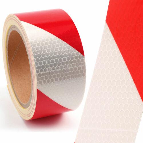 Reflexfolie Reflektorfolie Reflexband Selbstklebend Warntafel Rot Und Weiss 3D
