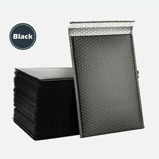 Any Size Poly Bubble Mailers Shipping Mailing Padded Bags Envelopes Black Lots