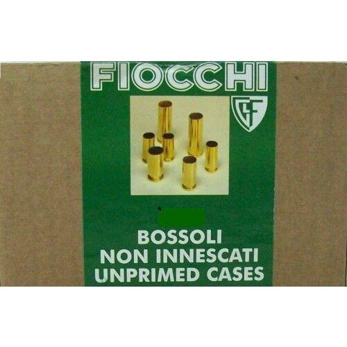 Bossolo Fiocchi calibro   9 mm luger non innescato  Confezione da 250 pezzi.