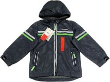 LONDON FOG Baby Boys Chest Stripe Poly Lined Jacket