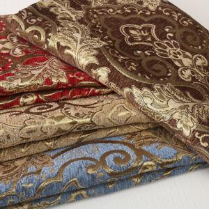 European-Chenille-Pillow-Cushion-Case-Upholstery-Material-Jacquard-Sofa-Fabric