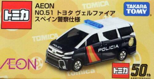Aeon Limited Tomica Toyota Vellfire Spanish Police Car Takara Tomy