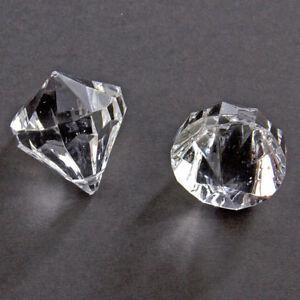 Image Is Loading TRANSPARENT 30mm DIAMOND SHAPED TABLE CONFETTI DECORATION