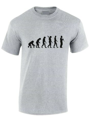 XXXL Evolution of Man CLARINET PLAYER T-shirt Music TShirt,Tee Adult /& Kids SM