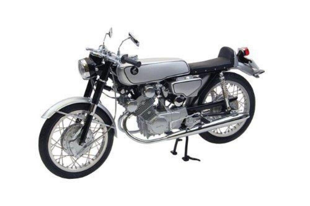 NEW Ebbro 10029 Honda CR93 Street Bike (Black) 1 10 scale JAPAN F S S2975