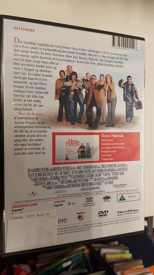 Meet the parents, DVD, komedie