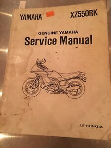 Yamaha-XZ550RK-Genuine-Service-Manual-11616-XZ-55
