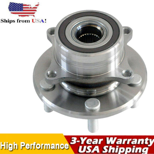 Front Wheel Bearing And Hub For 2007 2008 2009 2010 2011