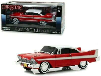 1983 Evil Version with Blacked Out Windows - 1958 Plymouth Fury GreenLight 86575-1: 43 Christine