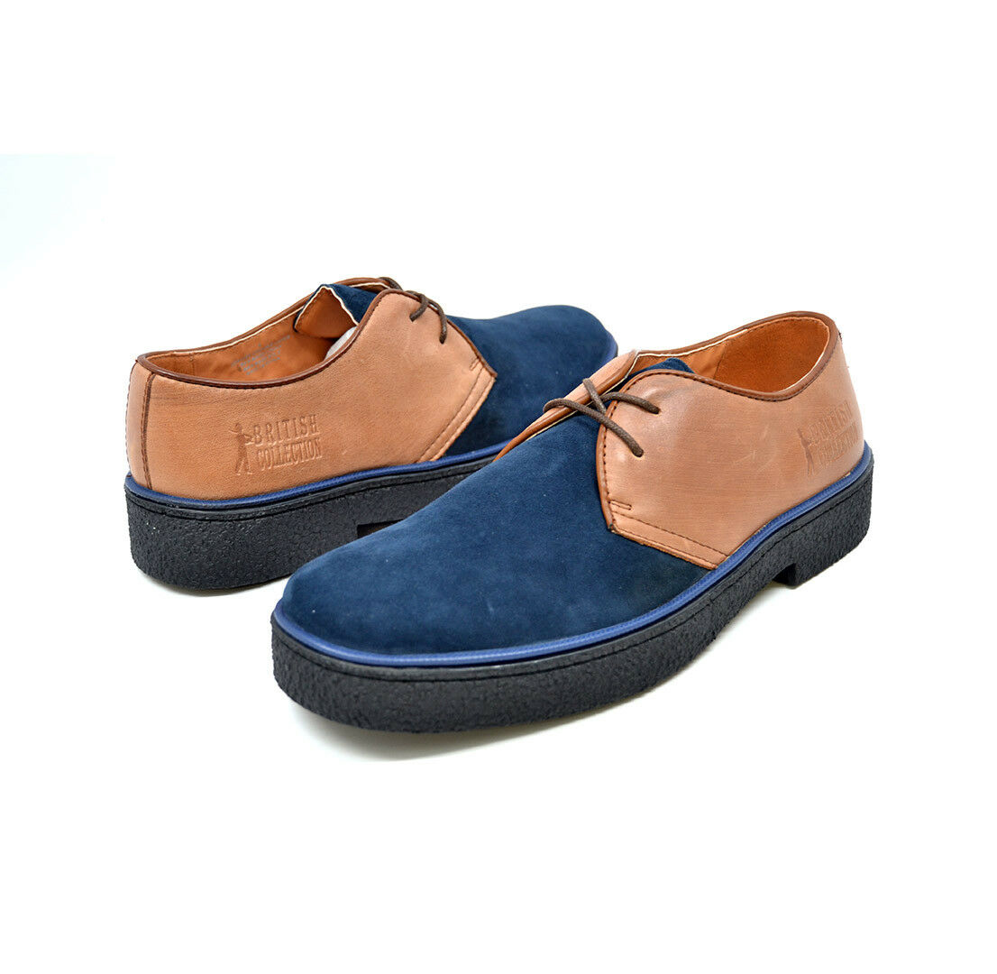 British Classic Playboys-Navy and Tan Tan and cb0e81