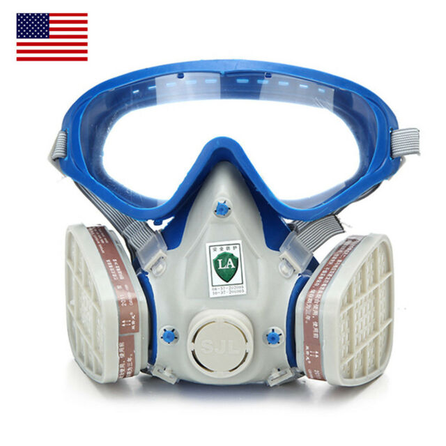 Event & Party Temperate For 6800 Blue Silicone Gas Mask Full Facepiece Respirator 7 Piece Suit Painting Spraying Anti Dust 5n11 Filters 6001cn Cartridge