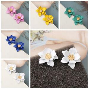 NEW-Fashion-Flower-Ear-Stud-Personality-Temperament-Earrings-Women-Charm-Jewelry