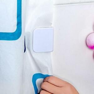 Anti Splash Shower Curtain Clips Stop Water Leaking Guard Bathroom