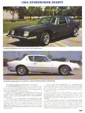 1964 Studebaker Avanti Article - Must See !!
