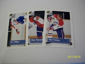 LOT-OF-3-PRE-ROOKIE-CARDS-FALLOON-KONOWALCHUK-AND-FORSBERG-FROM-ULTIMATE-1991