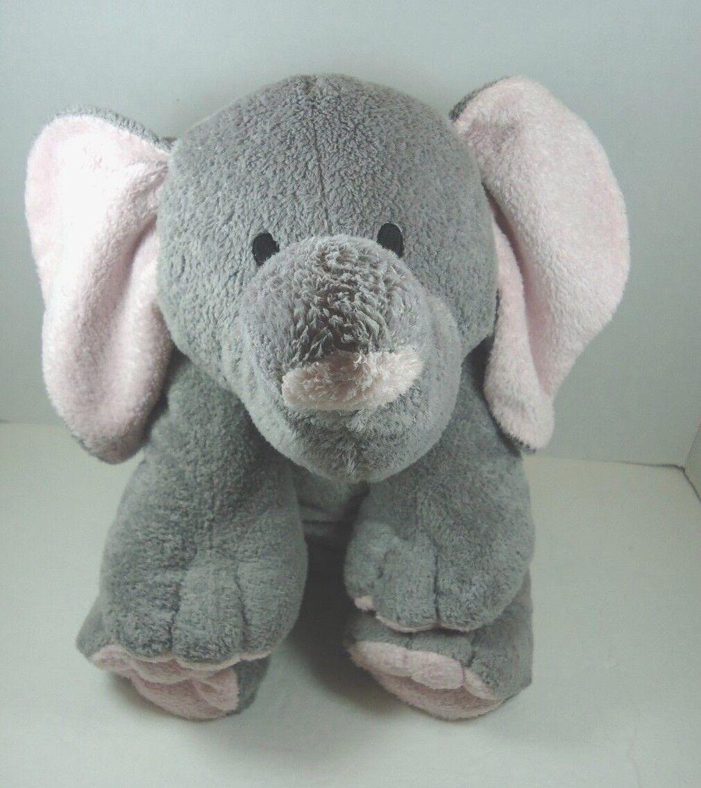 Ty pluffies  elefant  großen grauen augen weichen 18 genäht