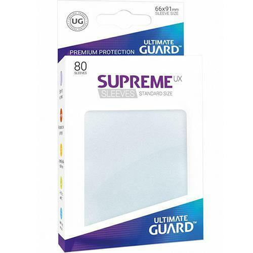 Protège-cartes Ultimate Guard SUPREME UX Glacé x80  Neuf Accessoires