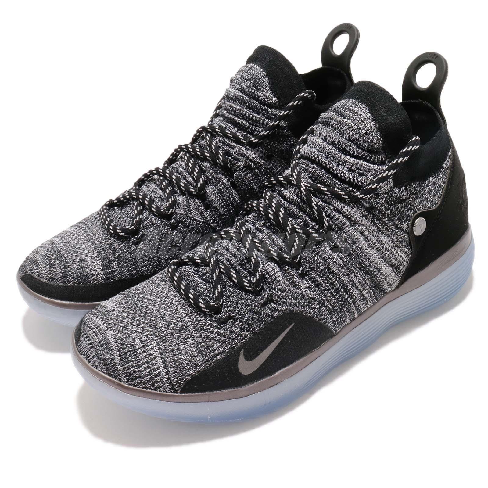 Nike Zoom KD 11 EP Still KD Black Grey Kevin Durant Basketball shoes AO2605-004