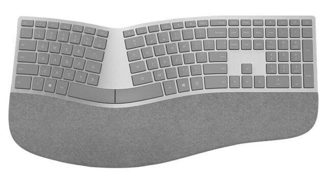 Microsoft Surface Ergonomic Keyboard Gray - Wireless - Bluet