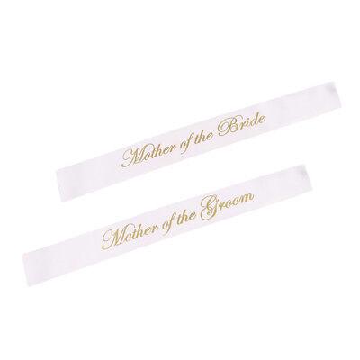Bride Wedding Bachelor Party Sash Etiquette Ribbon Shoulder Strap Veils w// Comb