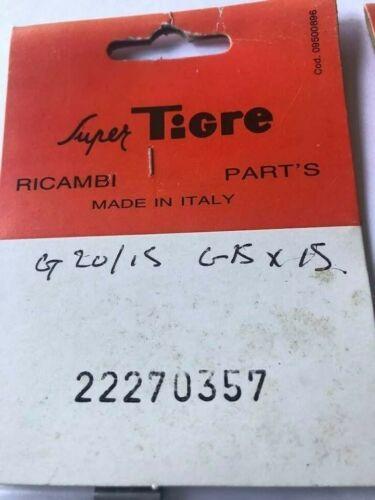 SUPER TIGRE WRIST PIN FOR G20//15 22270357 RICAMBI ITAILIAN RC PARTS