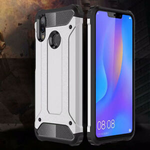 big sale 6de57 25d01 Details about Protector Hybrid Shockproof Hard Cover Silicone Case For  Huawei Nova 3i/P Smart+