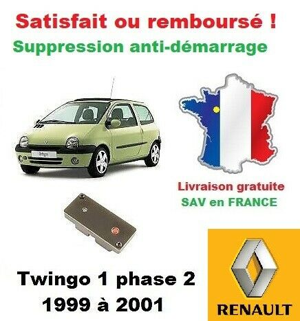 Boitier OBD de réparation des problèmes anti-démarrage Renault Twingo 1 phase 2