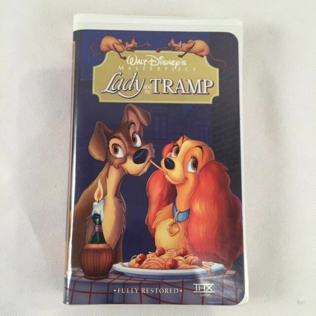 Lady And The Tramp Walt Disney S Masterpiece Collection Vhs For Sale Online Ebay