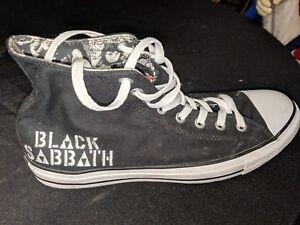 654920dec56d 2013 CONVERSE CHUCK TAYLOR MUSIC ALL STAR BLACK SABBATH BLACK MEN ...
