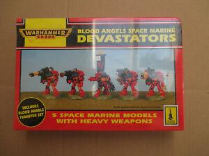 D11C45 SPACE MARINE DEVASTATOR BLOOD ANGEL WARHAMMER 40000 W40K (1993) SEALED