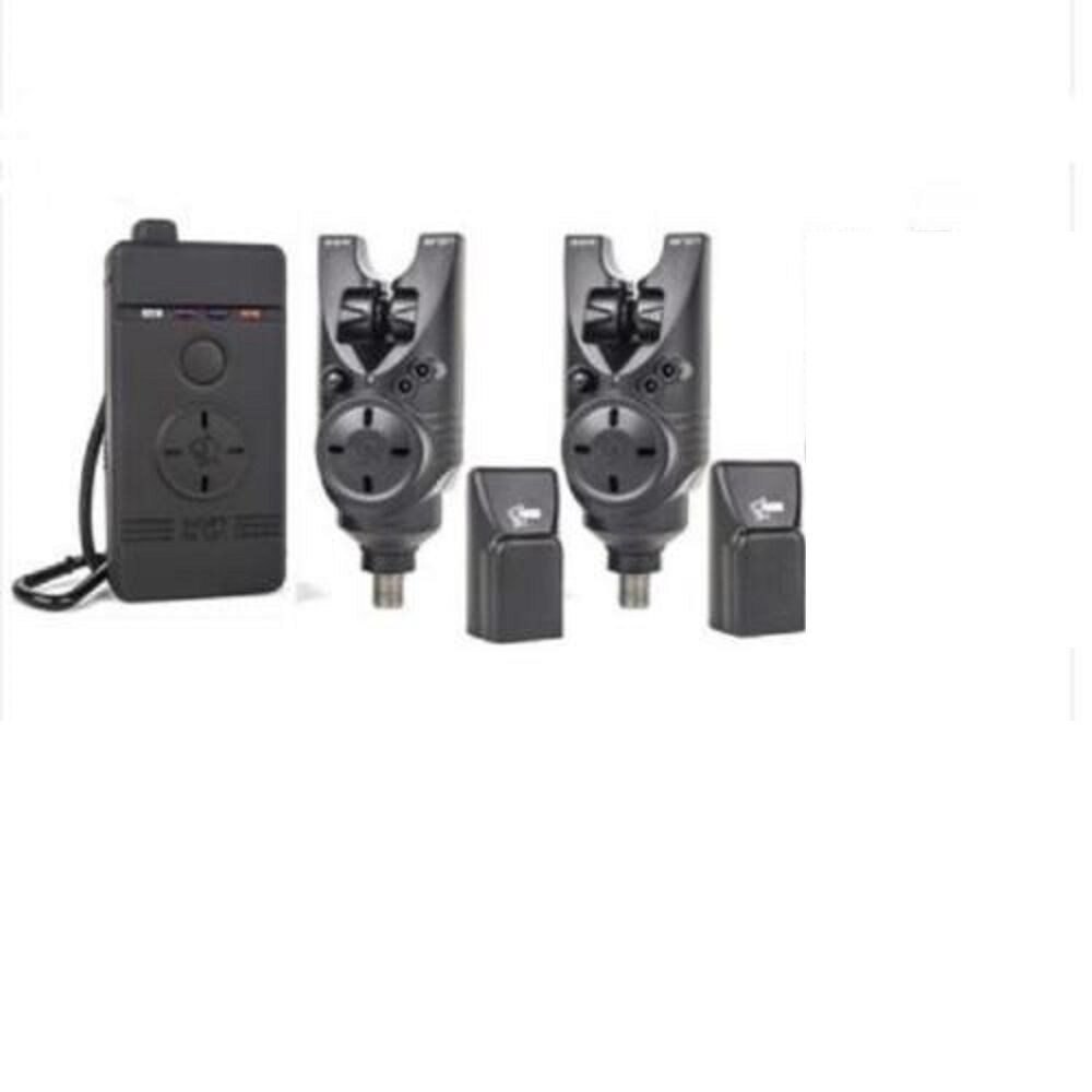 NASH SIREN S5R BITE ALARMS X 2 PLUS WIRELESS RECEIVER