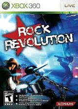 Rock Revolution GAME (Xbox 360) **FREE SHIPPING!!