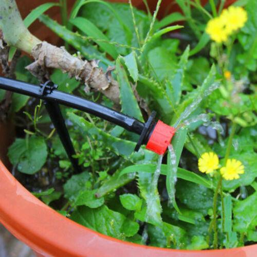 10//20//50X Garden Irrigation Misting Micro Flow Dripper Drip Head 1//4/'/'Hose SE
