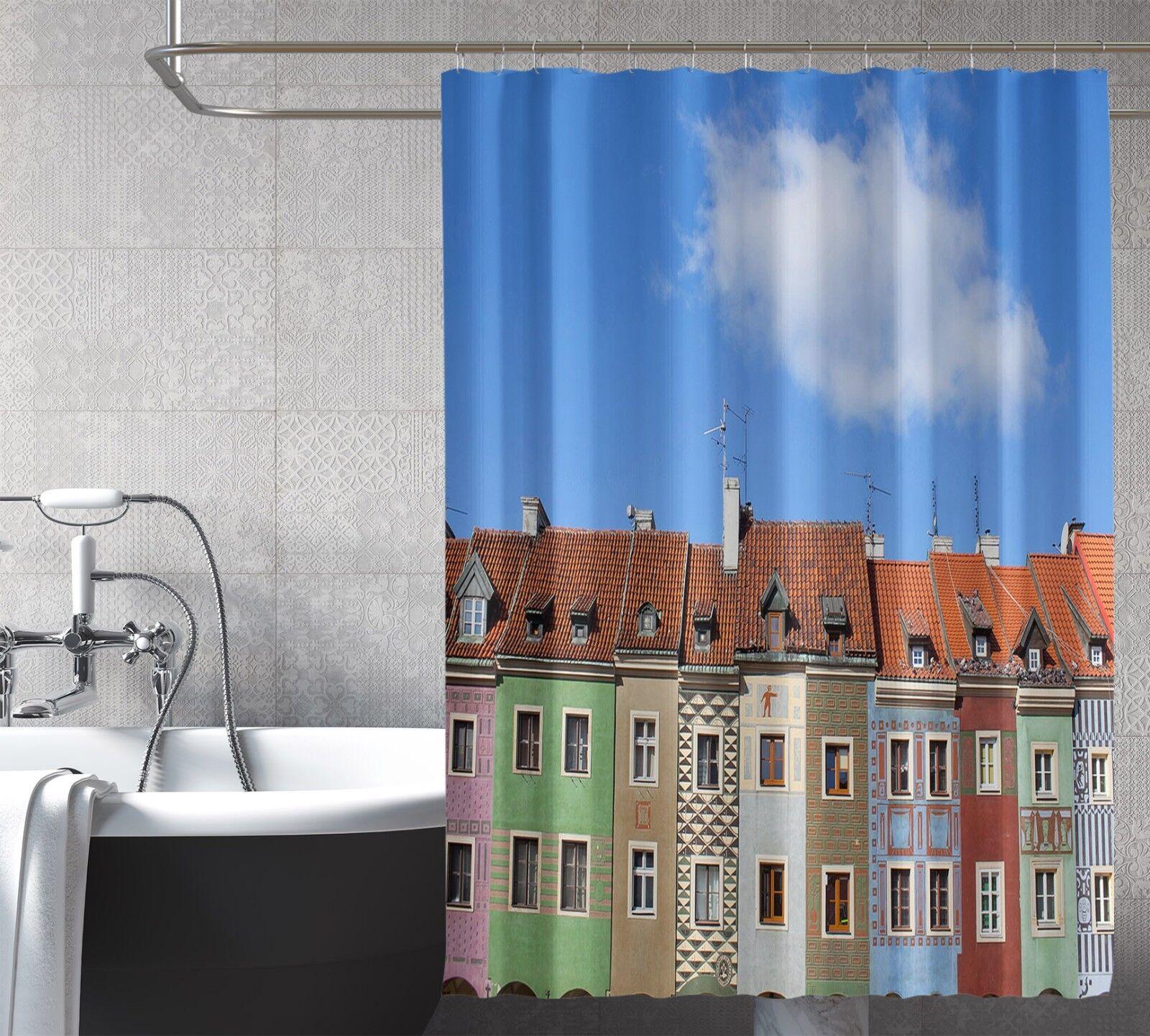 Borrar 3d casa 31 cortina de ducha impermeable fibra baño en casa Windows inodoro de