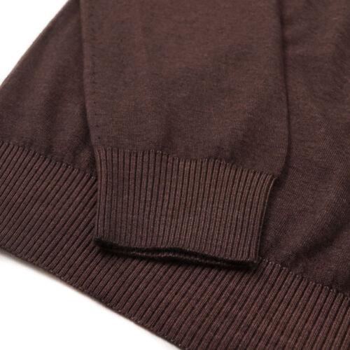 52 Nwt 'cashmere Kiton Sweater Nuvola' 1995 L Superfine eu Brown AAgqzF