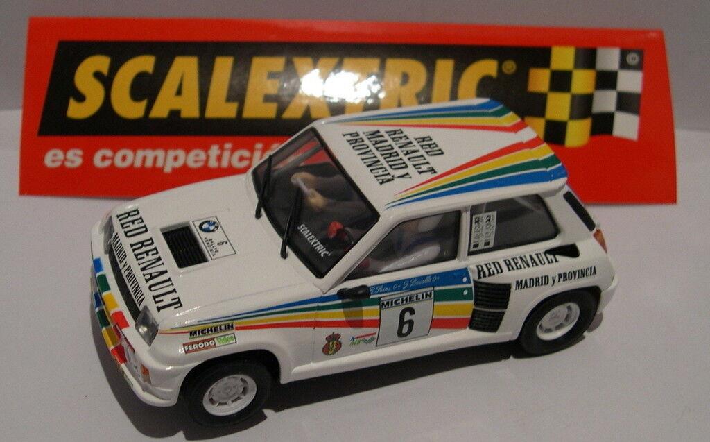Scalextric Spain Pianeta Carlos Sainz Renault 5 Turbo 2 Sainz-Lacalle 1983