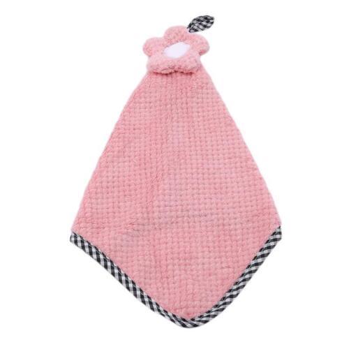 Fashion Nursery Hand Towel Soft Cartoon Hanging Wipe Bathing Towel 6L