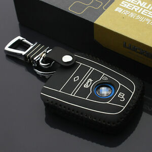 Car Key Case Key Cover For Bmw I3 I8 2014 2016 2017 Car Key Holder Leather Cover