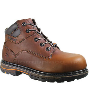 6ac7cfd17368 Details about Wolverine Work Boots Mens Razorback Slip Resistant Waterproof  6
