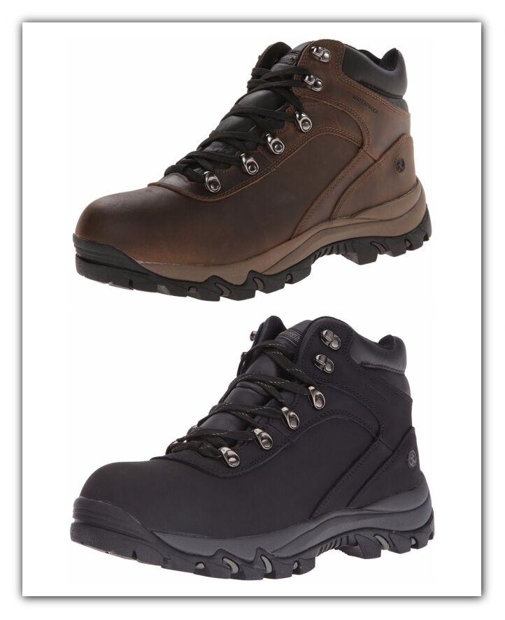 Uomo Stivali Waterproof Hiking Stivali Stivali Stivali Pelle Upper Northside Apex Stivali NEW 5f3417