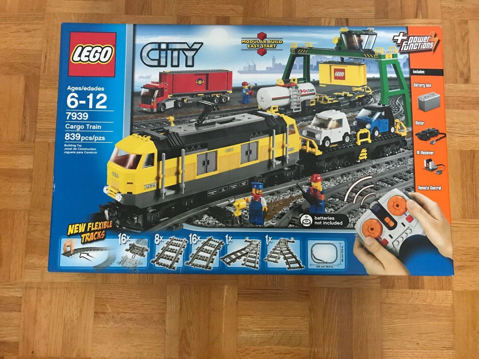 7939 LEGO città autogo Train-Bre nuovo,  Sealed, Excellent scatola Condition  Prezzo al piano